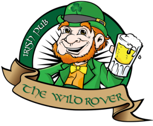 logo wild rover irish bar