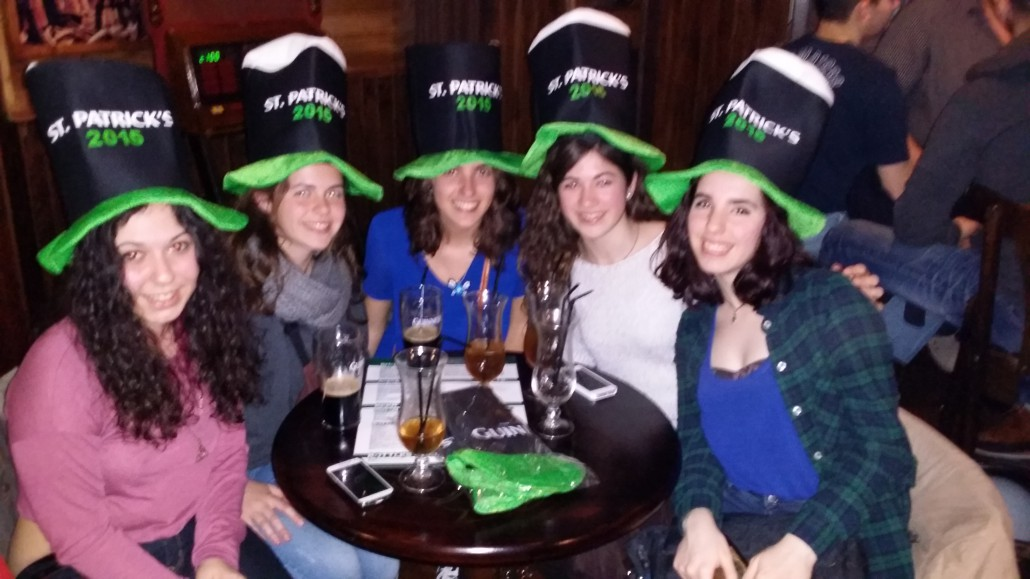 Saint Patricks day People Irish pub