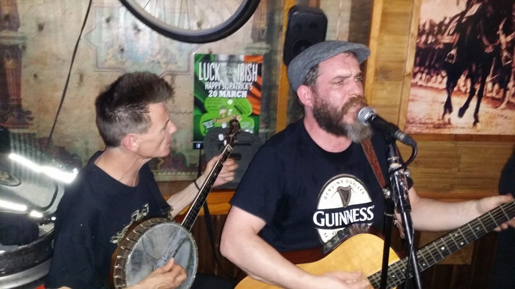 Live Music Irish pub barcelona the lost river