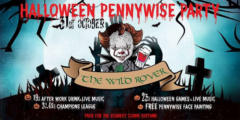 Wild Rover Halloween Party Barcelona